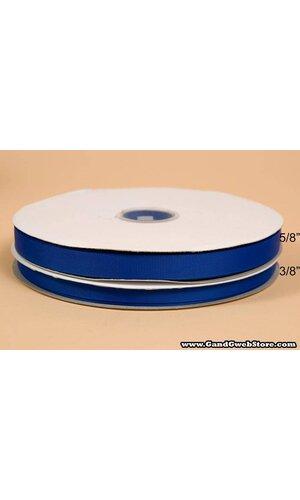 GROSGRAIN RIBBON ELECTRIC BLUE