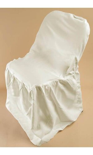 FOLDING CHAIR COVER IVORY