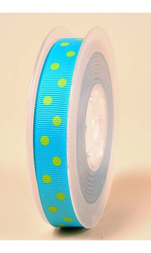 "5/8"" X 17YDS GROSGRAIN TURQUOISE #340"