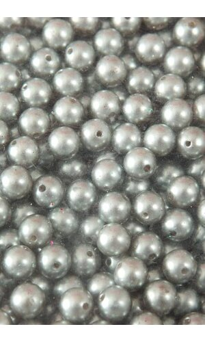 12MM ABS PEARL BEADS SILVER PKG(500g)