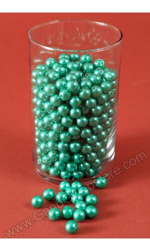 12MM ABS PEARL BEADS TEAL PKG(500g)