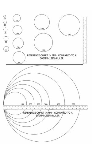 150MM SHINY PLASTIC BALL COPPER