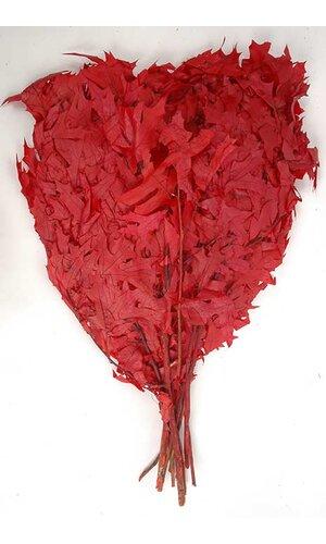 TRANS OAK LEAVES 1LB RED
