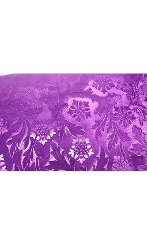 "20"" X 30' POLY EMBOSSED FOIL PURPLE EA"