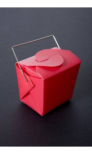 "2.75"" X 2"" X 2.5"" FAVOR BOX RED PKG/12"